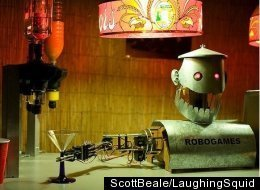 BarBot 2010: Bartender Robots Face Off In Cocktail Competition (PHOTOS)