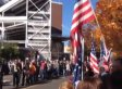 'We Stand Together': Crowd Of 2,500 Thwarts Westboro Baptist Church Protest At Funeral Of Soldier Cody James Patterson (VIDEO)