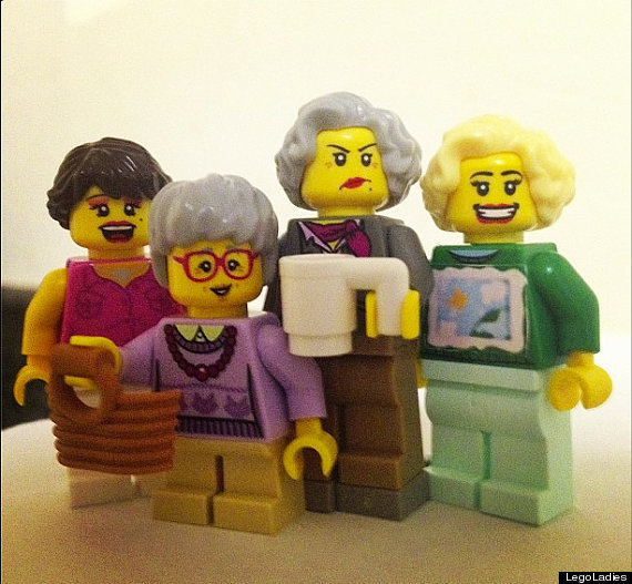 golden girl lego