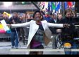 Tamron Hall Sprinting Across The 'Today' Plaza Made Our Day (VIDEO)
