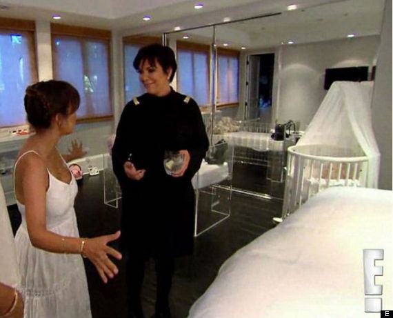 North West's All-White Nursery Is As Fancy As You'd Expect ...