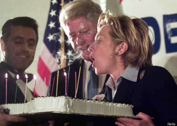 hillary clinton birthday cake