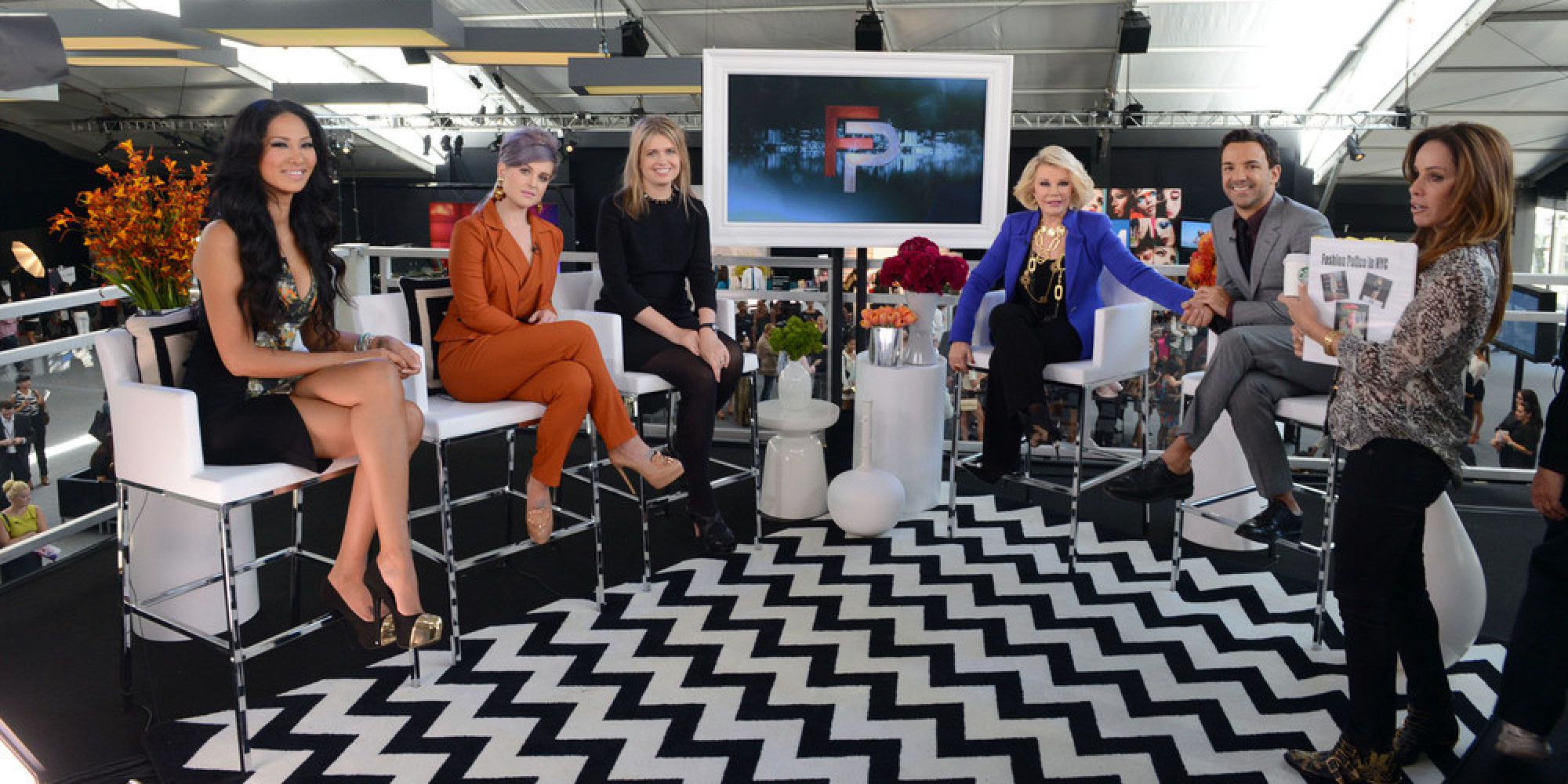 The Fashion Police Cast Remembers Joan's Humor E Fashion Police Masks Racist