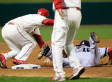 Cardinals Edge Red Sox In World Series Game 3 5-4: St. Louis Scores Winning Run On Obstruction Call