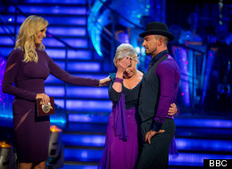 Tears On 'Strictly' As Deborah Gets The Boot