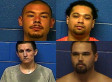 Four Inmates Escape Oklahoma Jail Through Shower Hatch