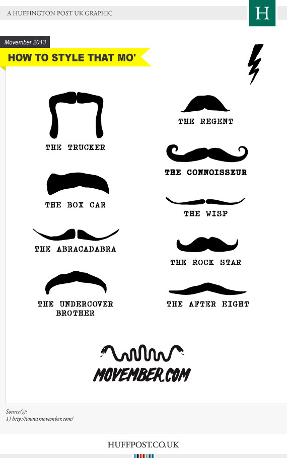 Movember Styles And Ideas