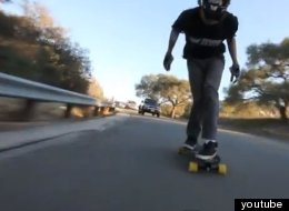 17-Year-Old Downhill Skateboards At INSANE Speeds