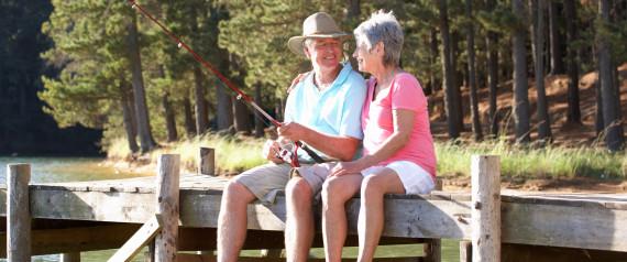 OLDER COUPLE RETIRED