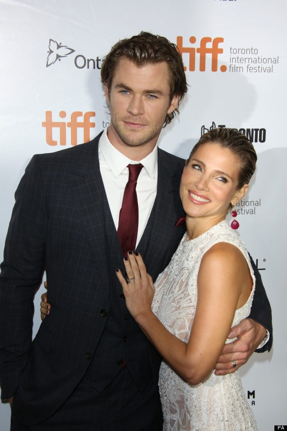 Hemsworth Parents Young Chris Hemsworth and his wife