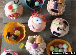 Ghoulish and Ghastly Cupcakes for Halloween