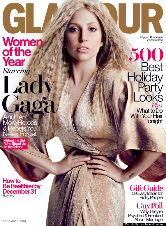 Lady Gaga Slams Her Own Glamour Cover Calls Out Damaging Use Of Photoshop Huffpost