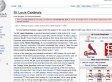 St. Louis Cardinals' Wikipedia Page Vandalized And Homophobic Edits Were Shown By Google (PHOTOS)