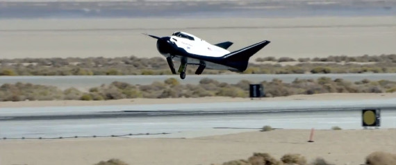dream chaser mini space shuttle