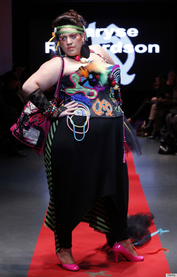Pulp Fashion Week Celebrates Plus Size Models In Paris Photos Huffpost Life