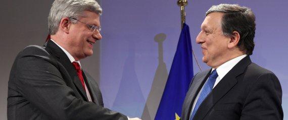 CANADA EU FREE TRADE TARIFFS