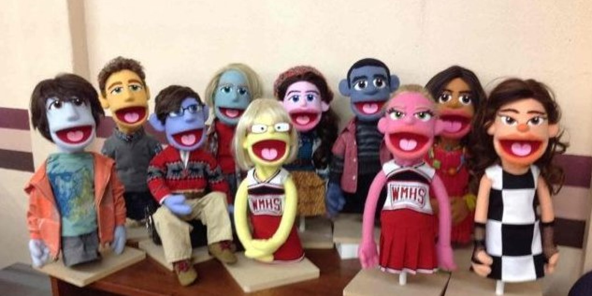 Glee Puppets Are The Cutest