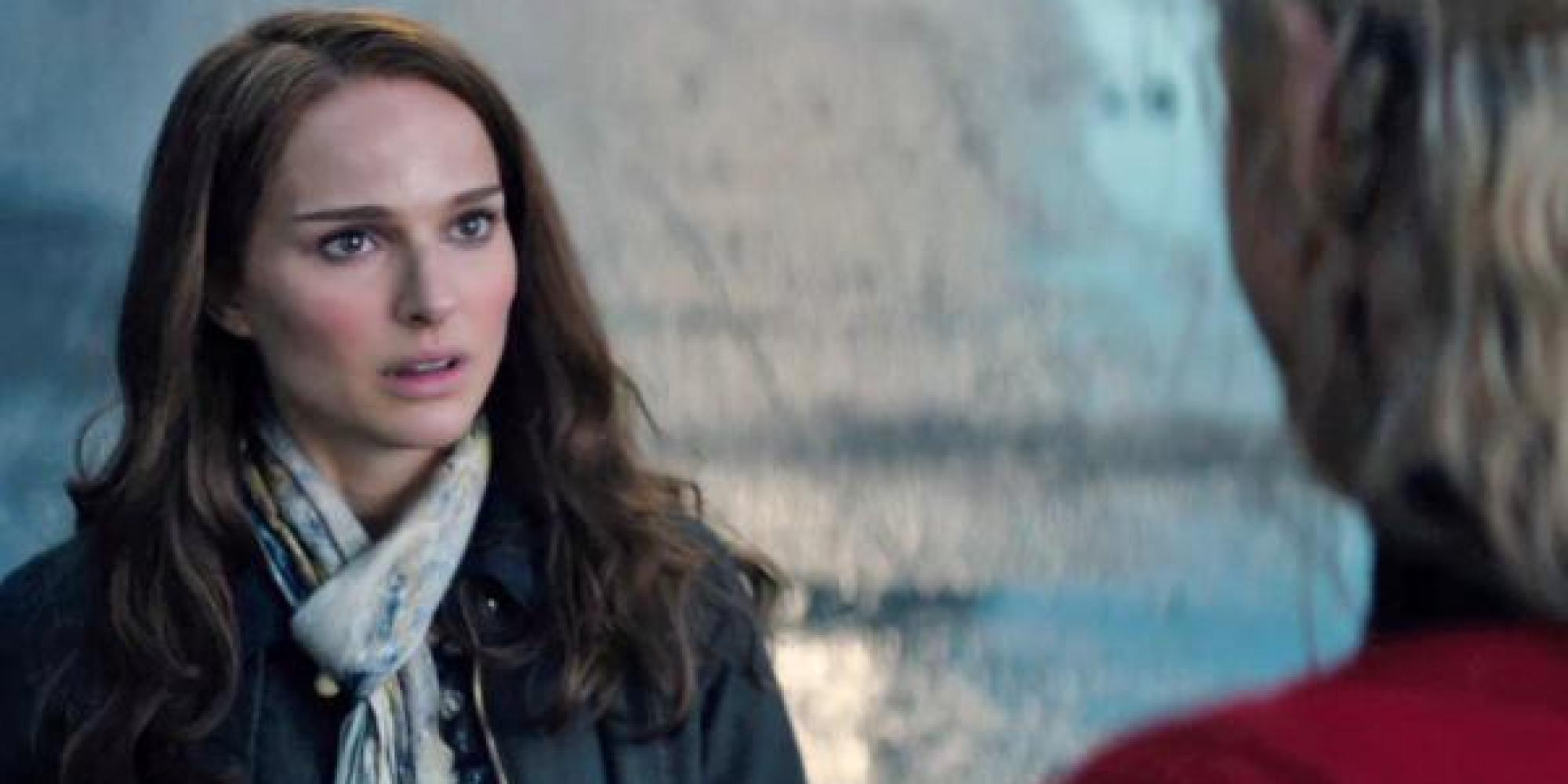 Natalie Portman as Jane Foster in Thor: The Dark World ... |Natalie Portman Thor The Dark World