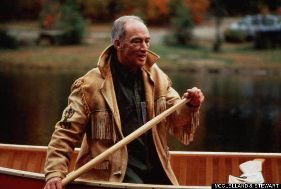 pierre trudeau canoe
