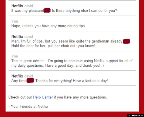 The Secret Magic Behind Netflix Customer Service | HuffPost