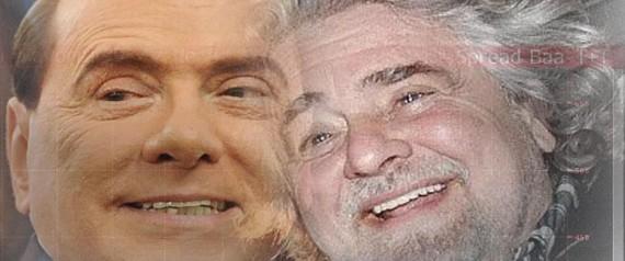 GRILLO BERLUSCONI