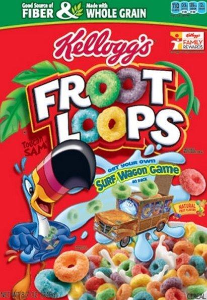 froot loops céréales