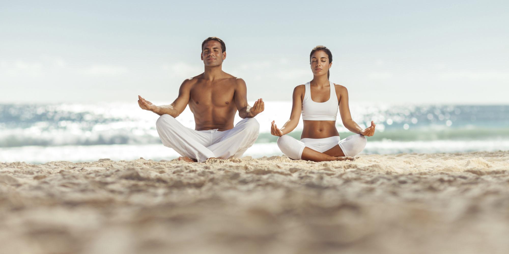 Voglio rivalutare la mia concezione di Zen O-BEACH-YOGA-facebook