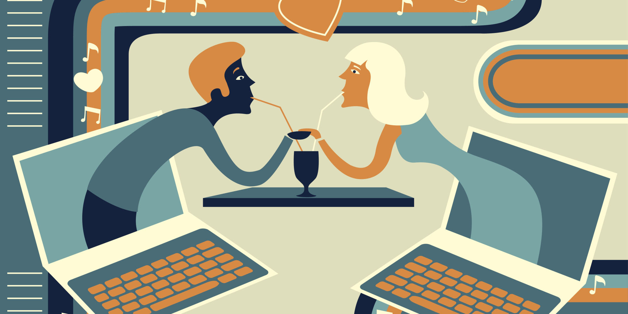 My view on online dating and cyber love