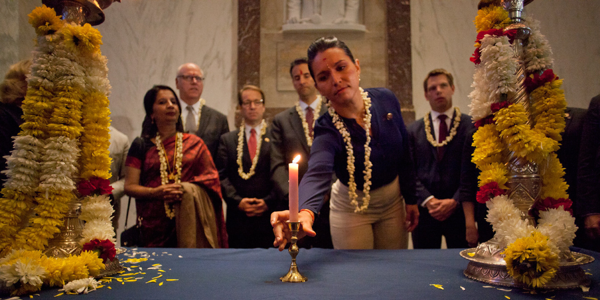First Diwali In Congress Celebrated On Capitol Hill