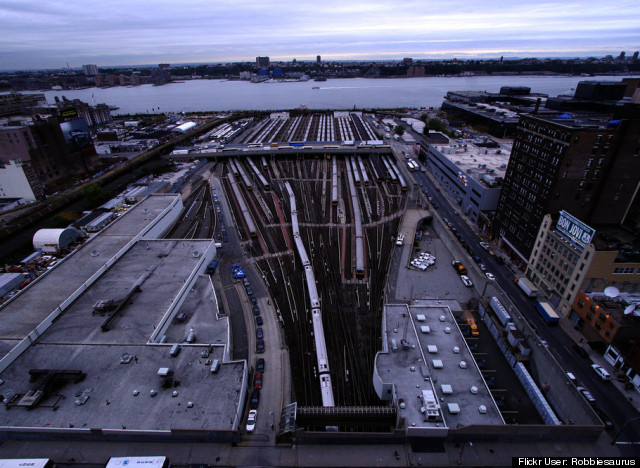 hudson yards before