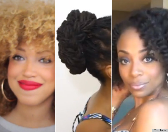 natural hair youtube