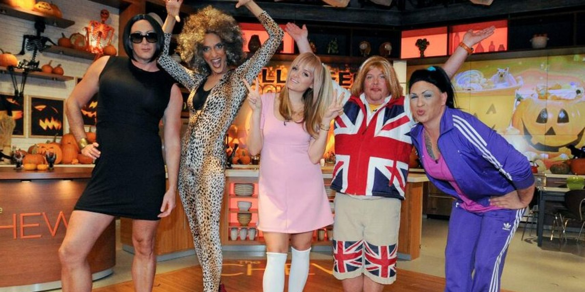 The Chew Cast the chew' cast dresses up as the spice girls for halloween (photos