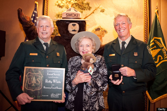 betty white forest service