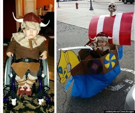 viking costume wheelchair