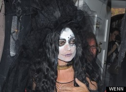 PICS: Stars Get Their Spook On At Jonathan Ross's Annual Halloween Bash