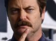 Movember: Nick Offerman's Guide To Great Moustache Moments In History (VIDEO)