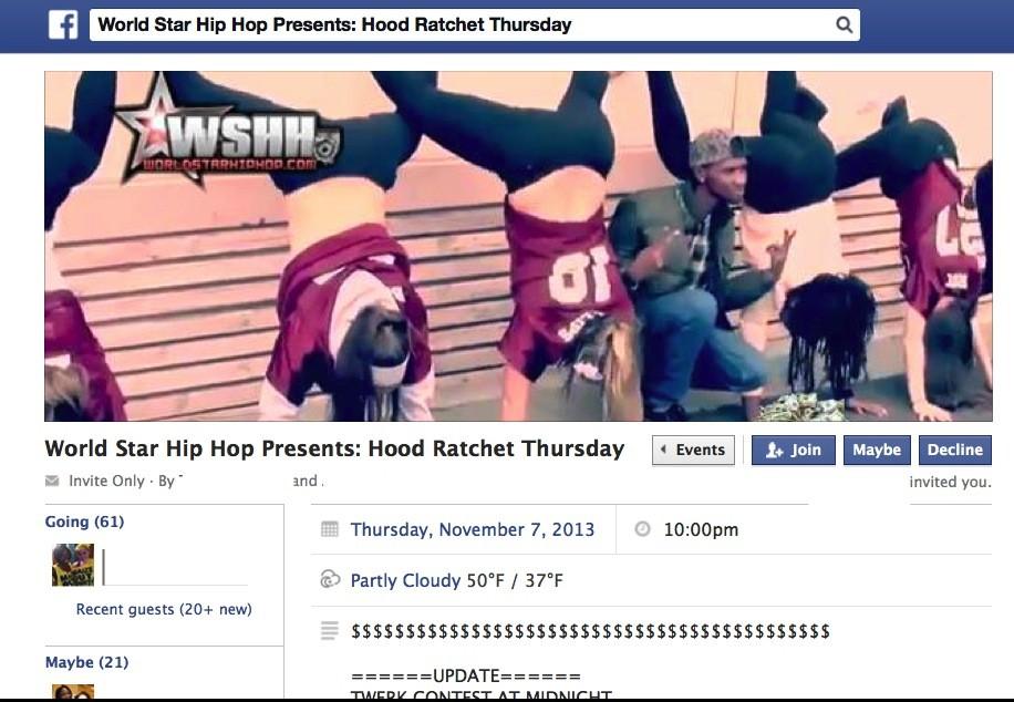 hood ratchet thursday