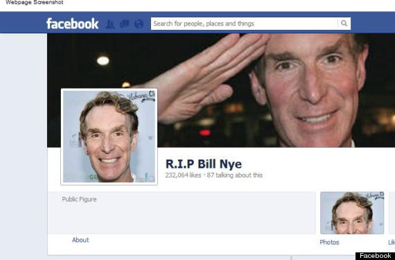 bill nye death facebook hoax