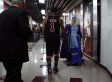 Derrick Rose Casually Greets Period Costume-Wearing Fan At United Center After Bulls Win (PHOTO)