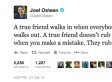 Joel Osteen Tweets Something Really, Really, Really Inspirational