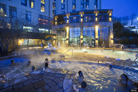 Fairmont Mont Tremblant Resort Luxury Hotels And Spas For An Après Ski Treatment Photos