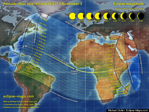 sunday solar eclipse