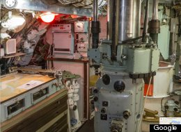 Street View Heads Inside Decommissioned British Submarine