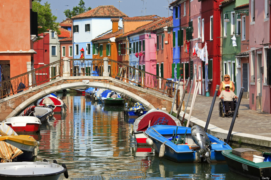 Burano, Italy Is The Cheeriest Little Island, And It Will ... Da Vinci Paintings