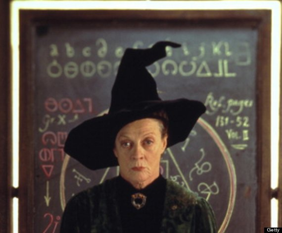 mcgonagall harry potter
