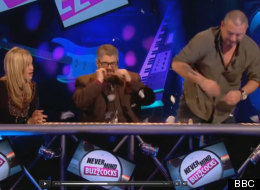 WATCH: Huey Morgan Storms Off 'Buzzcocks'