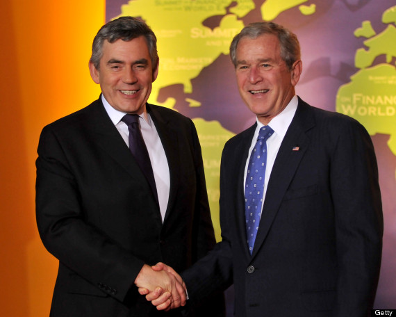 bush gordon brown