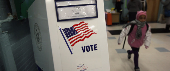 NEW YORK CITY VOTING BOOTH