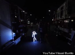 WATCH: LED Baby Goes Trick-Or-Treating!