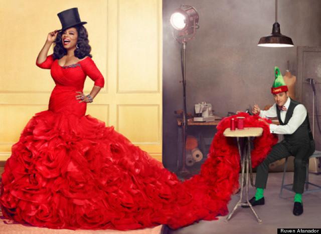 oprah and jimmy kimmel o magazine december